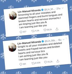 Lin Manuel Miranda Quotes, Hamilton Lin Manuel Miranda, Lin Manual Miranda, Good Morning Good Night, Founding Fathers, I Feel Good, Inspire Me, Wise Words, Me Quotes