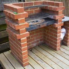 grill ogrodowy z cegły