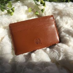 NEW Starbucks Brown Leather Wallet - Giftcard Holder 2018 Limited Edition Starbucks Christmas, Starbucks Gift Card, Starbucks Reserve, Small Planner, Triangle Bag, Small Leather Wallet, Card Wallet, Valentine Gifts, Card Holder
