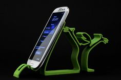 #3DPrinted La Linea #Samsung #GalaxyS5 #Stand _Designed by alavanimation , www.likefigures.com