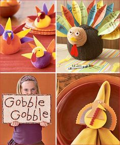 Thanksgiving craft ideas.