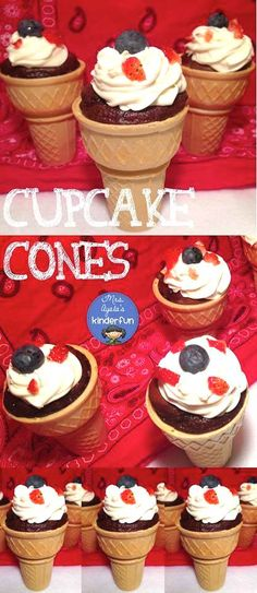 'Like' to vote for @mrsayala's Red, white and blue ice cream cone cupcakes! Inspired by: http://www.lovefromtheoven.com/2011/06/21/red-white-blue-ice-cream-cone-cupcakes/ #HSPinParty