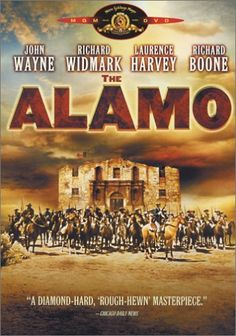 "one of the worse tellings of ""the Alamo"" but I love the movie just the same...."