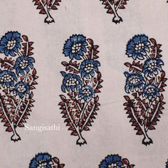 With a range of traditional handblock print and handicraft fabrics and apparel curated from weavers all across India,SSEthncis brings you Indian ethnic collection at reasonable prices. Wood Stamp, Repeating Patterns, Textile Design, Handicraft, Printing On Fabric, Print Patterns, Embroidery Designs, Bohemian Rug, Paisley