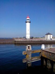 Lighthouse Hellevoetsluis, The Netherlands