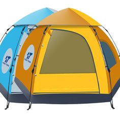 waterproof 56 people automatic instant pop up tent uv proof family camping tent