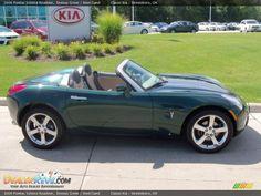 2006 Pontiac Solstice Roadster Envious Green