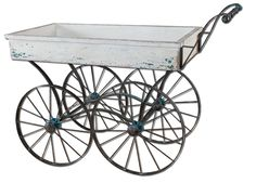 Uttermost 26128 Generosa Weathered Flower Cart