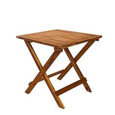 Beistelltisch-Klapptisch-Holztisch-ideal-fr-den-Balkon-Garten-Camping-aus-Akazienholz-45-x-45-x-45-cm