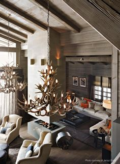 82 Modern Chalet Interior Design 10 Chalet Chic Living Room Ideas For Ultimate Luxury And fortable Chalet Chic, Chalet Style, Ski Chalet Decor, Cabin Chic, Top Interior Designers, Best Interior Design, Cabin Interiors, Rustic Interiors, Modern Interiors