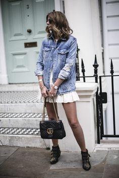 DENIM BOHO https://goo.gl/PgOUy0 #outfitoftheday #lookoftheday #fashiongram #currentlywearing #lookbook #whatiwore #whatiworetoday #wiwt