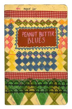 We LOVE Fanny Gentle's Peanut Butter Blues — Painted Sidewalks