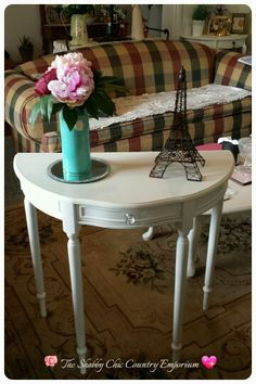 Demi Lune table by The Shabby Chic Country Emporium