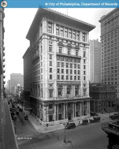 PhillyHistory.org - Manufacturers' Club; N.W. corner of Broad and Wal