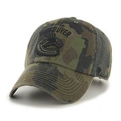 Vancouver Canucks Camouflage hats