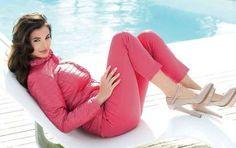 Cannella moda primavera estate 2013 - Piumino rosa e pantaloni Cannella