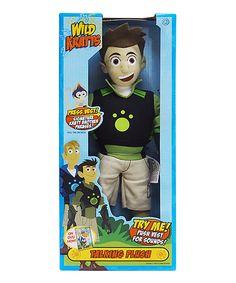Look what I found on #zulily! Wild Kratts Talking Chris Toy by Wild Kratts #zulilyfinds