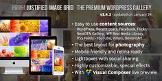 CodeCanyon - Justified Image Grid v3.4.2 - Premium WordPress Gallery