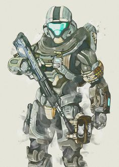 HALO Sketch Poster detailed, premium quality, magnet mounted prints on metal designed by talented artists. Our posters will make your wall come to life. Odst Halo, Halo 2, Armor Concept, Concept Art, Halo Lego Sets, Halo Master Chief Helmet, Halo Videos, Character Art, Character Design