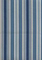 "Waverly ""Rodeo Drive"" 100% cotton fabric in Indigo. $9.95 per yard. #fabric #blue #stripes #slipcovers"