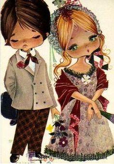 Gallarda illustration, couple