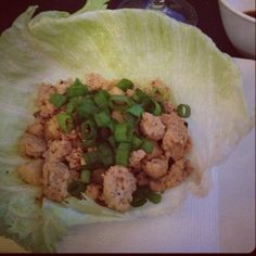 Asian Chicken Lettuce Wraps :) #skinnytaste