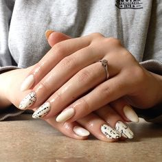Hybrid manicure . My own