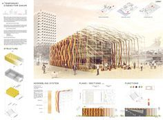 [AC-CA] International Architectural Competition - Concours d'Architecture | [DAKAR] Temporary Cinema