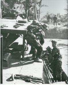 US Navy SEALS in Vietnam