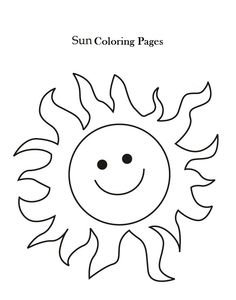 Sun Coloring Pages: Let's introduce your kid to Mr. Sun, the brightest and hottest star in the entire solar system!Here is our spectacular sun for your kid to start coloring these pages. This can help your kid explore and open his imagination.