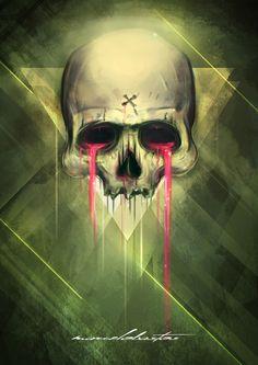 Skull.Project by Marcelo Bastos, via Behance