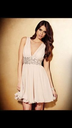 b7a1ca803a5 Details about Lipsy VIP Embellished Waist Babydoll Sequin Prom Dress UK Size  6 BNWT RRP £115