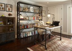 """Noe Valley Residence - Office/Library of a Geremia Design residential project in San Francisco, CA. Visit our <A HREF=""""http://geremiadesign.com"""" TARGET=""""_blank"""">website</A> for more information."""