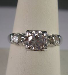 1940's Antique Diamond Love this!!