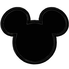 Mickey And Minnie Mouse Head Clip Art Mickey Mouse Template, Minnie Mouse Clipart, Mickey Mouse Head, Mickey Mouse Parties, Baby Mickey, Mouse Ears, Black Woman Silhouette, Silhouette Clip Art, Silhouette Cake