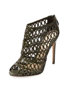 Python Cut-Out Bootie by Alexandre Birman at Gilt