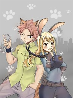Holy fuck is this a Fairytail/Zootopia crossover? Be still my heart!