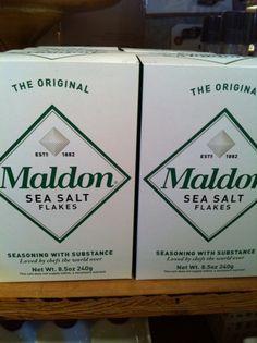 Classic Watson Kennedy Gifts : Sea Salt from England | tedkennedywatson.com