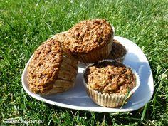 Halushka varí: Mrkvovo-makové muffiny