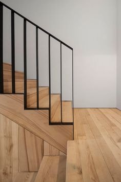 The Alegria Residential Building Metal Stair Railing, Stair Railing Design, Staircase Railings, Stairways, Spiral Staircases, Banisters, Stairs Architecture, Architecture Details, Interior Architecture