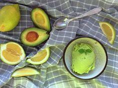 Avokádová zmrzlina podle Kateřiny Gallinové (blog Skřítčí kuchyně)