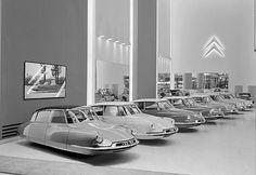 Flying Citroën DS by Jacob Munkhammer. Via iainclaridge.net.