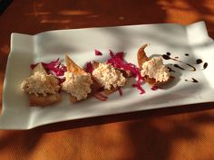 This is such a great appetizer and it can be found at Maria Bonita in Nerja.