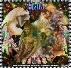 ANGELS WOLF AND INDIAN LIKE MY PAGENAME