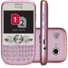 Celular CCE Mobi QW20, GSM, Rosa, Dual Chip, TV, Teclado Qwerty, Câmera de 1.3MP, MP3 Player, Rádio FM - http://batecabeca.com.br/celular-cce-mobi-qw20-gsm-rosa-dual-chip-tv-teclado-qwerty-camera-de-1-3mp-mp3-player-radio-fm.html