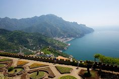 Amalfi Coast, Italy.  http://www.worldheritagesite.org/sites/costieraamalfitana.html