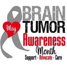 MAY - Brain Tumor Awareness Month - Pituitary Tumor and Vestibular Schwannoma