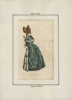 Ladies' Cabinet v. 16, plate 123 April, 1835