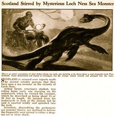 Loch Ness old article