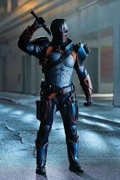 Deathstroke Cosplay, Dc Deathstroke, Super Hero Outfits, Super Hero Costumes, Marvel Dc, Marvel Comics, Robin Tim Drake, Vigilante, Doctor Who Fan Art